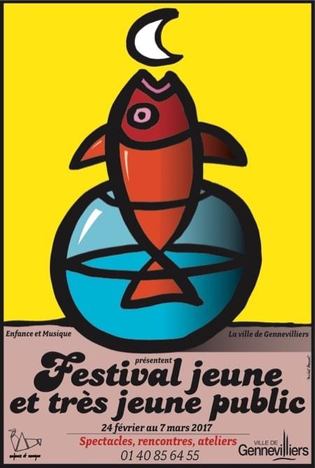 Affiche Festival jeune et très jeune public 2017