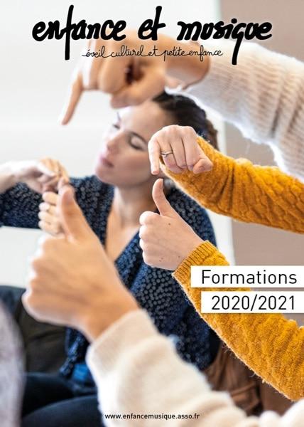 Couverture catalogue Enfance et Musique 2020/2021